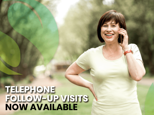 Phone Follow-Up Visits Available