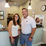 Michelle Kennedy, NP-C and Dr. Simonds