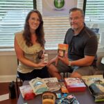 Dr. Simonds and Michelle Kennedy, NP-C with keto snacks