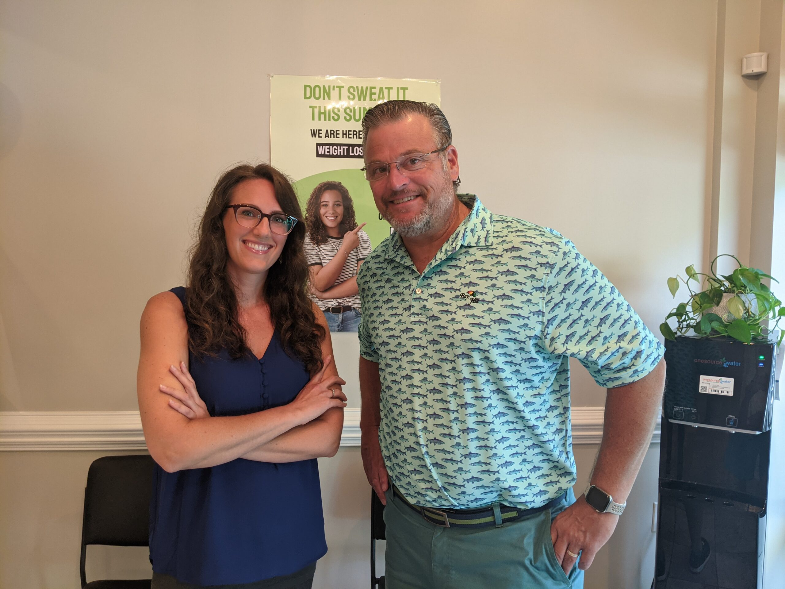 Dr. Simonds and Michelle Kennedy, NP-C